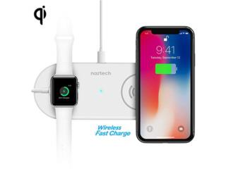 NAZTECH WIRELESS FAST CHARGER $44.95, MEGA CELLULARS INC. Puerto Rico