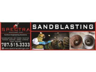 Sandblasting, Dustless, Hydrographics, Powder, Reuse Outlet Store Puerto Rico