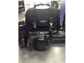 Camara Digital Canon EOS 7D, La Familia Casa de Empeño y Joyería-Aguadilla Puerto Rico