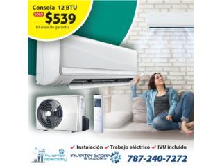 Consolas Inverter desde $539 al 7872407272, Inverter Store & Supplies Puerto Rico
