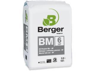 BERGER SOIL BM6 HP AND HP MYCO, HYDRO WAREHOUSE PR  Puerto Rico