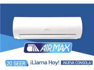 San Juan Puerto Rico Equipo Comercial, NUEVO AIRMAX 12BTU 20 SEER WIFI 540.00