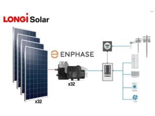 Microinversores  Enphase Paneles Solares, 24/7 Planta Solar Puerto Rico
