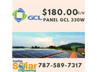Panel GCL 330W, Caribe Solar Engineering Puerto Rico