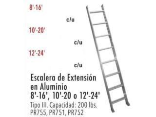 ESPECIAL BLACK ESCALERA DE EXT. EN ALUMINIO, Ferreteria Ace Berrios Puerto Rico