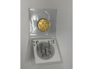Moneda de oro 22k  Iran- Azadi, La Familia Casa de Empeño y Joyería-Ave Piñeiro Puerto Rico