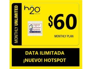 PLAN ILIMITADO CON HOTSPOT X $60 AL MES*, CAGUAS CELLULAR SYSTEM Puerto Rico