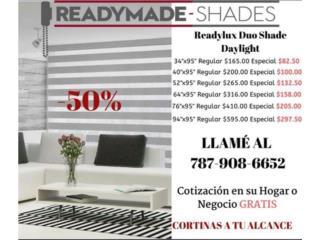 Duo Shade Daylight, Readymade-Shades Puerto Rico