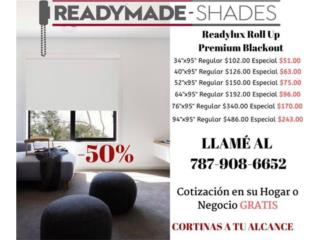 Roll Up Premium Blackout, Readymade-Shades Puerto Rico