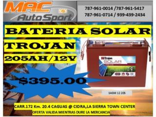 BATERIA SOLAR TROJAN 205AH/12/SAGM, Mf motor import Puerto Rico