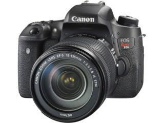 Canon EOS Rebel T6s con Lente, Flash y Bulto, Cashex Puerto Rico
