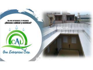 Ofertas en Sellado y Mejoras al Hogar, CAL ONE ENTERPRISES 787-925-2222/ 787-635-2505 Puerto Rico