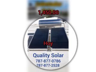 Calent. Solar ahorra 35% de su Factura de luz, Quality Solar System 787-517-0663  Puerto Rico