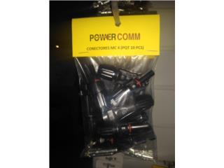 MC 4 Connector Female y Male, PowerComm, Inc 7878983434 Puerto Rico