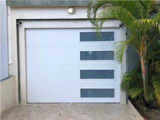 PUERTA GARAJE MODELOS MODERNOS ORIGINALES , PUERTO RICO GARAGE DOORS INC. Puerto Rico
