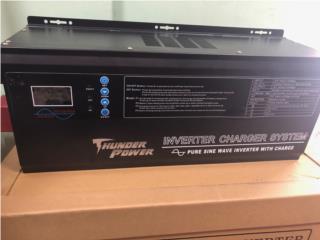 inverter thunder power 6K 24 Volt, FIRST TECH SOLAR Puerto Rico