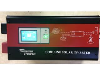 Inverter 3k 24 voltios WIFI Pantalla Tactil, FIRST TECH SOLAR Puerto Rico