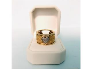 Anillo Dama en Oro 18kt con Diamantes, Cashex Puerto Rico
