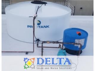 Cisterna de agua, DELTA SOLAR CORP. 787.413.4114 Puerto Rico