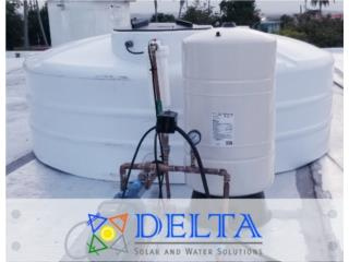 Tanques cisternas, DELTA SOLAR CORP. 787.413.4114 Puerto Rico