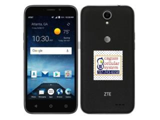 ZTE MAVEN 3 DE AT&T PREPAID POR SOLO $29.99**, CAGUAS CELLULAR SYSTEM Puerto Rico