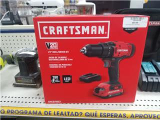 Drill Kit Craftsman  (Nuevo), La Familia Casa de Empeño y Joyería-Yauco  Puerto Rico