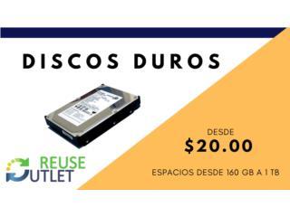 DISCOS DUROS (VARIEDAD), Reuse Outlet Store Puerto Rico