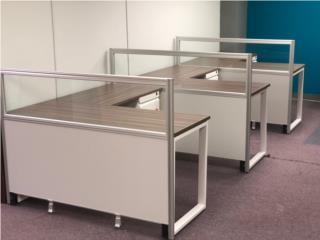Thin Panel Modular System with Desk , ModuFit, Inc. Puerto Rico