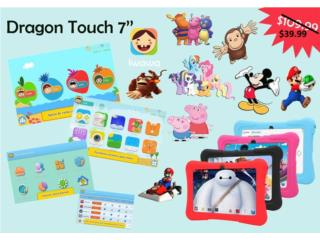 Tablet Kids ((Juegos, TV, Videos) Liquidación, SmartBase Puerto Rico