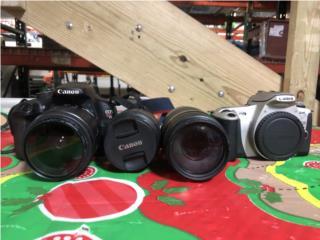 Set de cámaras Canon T5 y Rebel 2000, La Familia Casa de Empeño y Joyería-Carolina 2 Puerto Rico