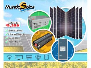 San Juan-Río Piedras Puerto Rico Maquinas Lavado a Presion Piezas, Sistema solar completo instalado $9,399