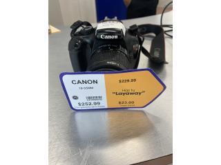 Cámara Canon 18-55mm, La Familia Guayama 1  Puerto Rico