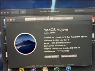 MacBook pro 2017, La Familia Casa de Empeño y Joyería-Bayamón Puerto Rico
