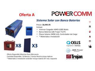 Sistema Solar Off-Grid, PowerComm, Inc 7878983434 Puerto Rico