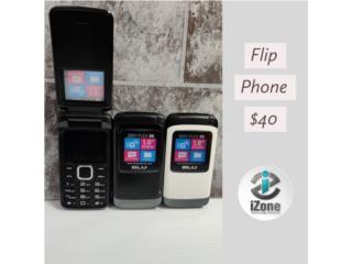FLIP PHONE DESBLOQUEADOS, iZone Technology San Juan Puerto Rico
