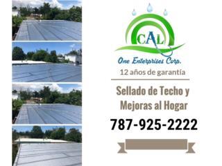 ¿Filtraciones? Ofertas en Sellado , CAL ONE ENTERPRISES 787-925-2222/ 787-635-2505 Puerto Rico
