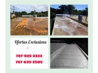 Filtracion - Goteras - Sellado de Techo, CAL ONE ENTERPRISES 787-925-2222/ 787-635-2505 Puerto Rico