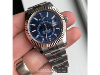 Rolex Skydweller Blue, CHRONO - SHOP Puerto Rico