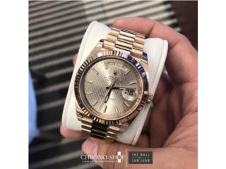Rolex Day date President Rose Gold, CHRONO - SHOP Puerto Rico