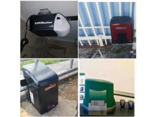 Portone eléctricos venta instalación repara, Rivera Home Service Puerto Rico