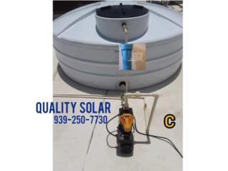 Cisternas 3 Capas, Quality Solar System 787-517-0663  Puerto Rico