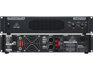 Amplificador Behringer 4000 watts x 2, Music & Technology Puerto Rico