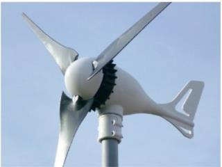 Turbina de viento 500 a 650 watts 24 V, Tropical Energy Puerto Rico
