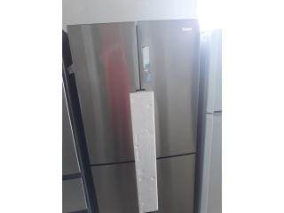 NEVERA HAIER SIDE BY SIDE STAINLESS STEEL, COLON APPLIANCES PARTS DIST. Puerto Rico