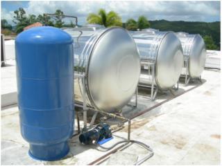 Cisterna 600 galones stainless steel, PowerComm, Inc 7878983434 Puerto Rico