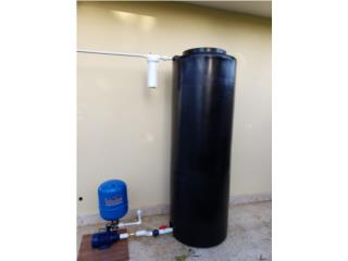 Cisterna 170 gals para apartamentos instalada, PowerComm, Inc 7878983434 Puerto Rico
