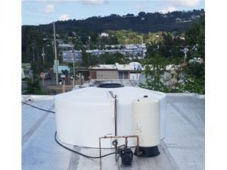 Cisterna 600 galones NUEVA, ATLANTIS SOLAR TECH Puerto Rico