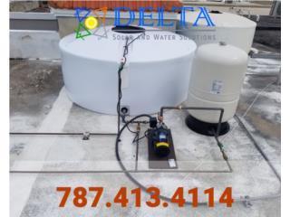 Cisternas... Delta..., DELTA SOLAR CORP. 787.413.4114 Puerto Rico
