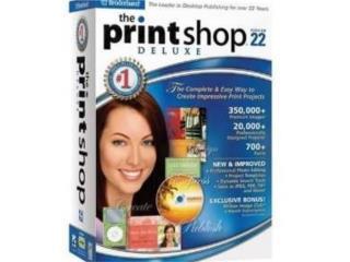 PRINTSHOP 22 ((( CREA TUS POSTALES ))), MK COMPUTER Puerto Rico
