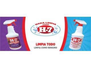 VENTA H-7 Industrial Cleaner/H-7 Multipurpose, JDEQUIPMENTS.COM Puerto Rico